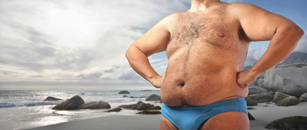 Badehosen für Homer Simpson-Männer | © olly - stock.adobe.com