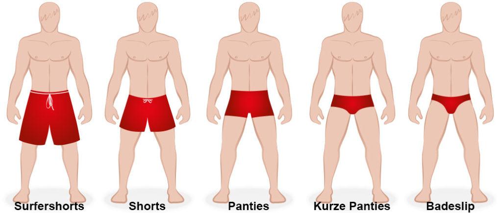 Badehosen 1x1 für Männer: Unterschiedliche Schnitte | © Peter Hermes Furian - stock.adobe.com