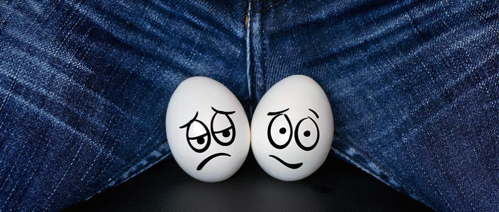 Hodenprobleme und Schmerzen am Hoden | © diy13 - stock.adobe.com