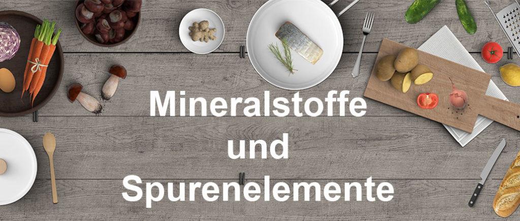 Mineralstoffe und Spurenelemente für Männer | © reichdernatur - stock.adobe.com
