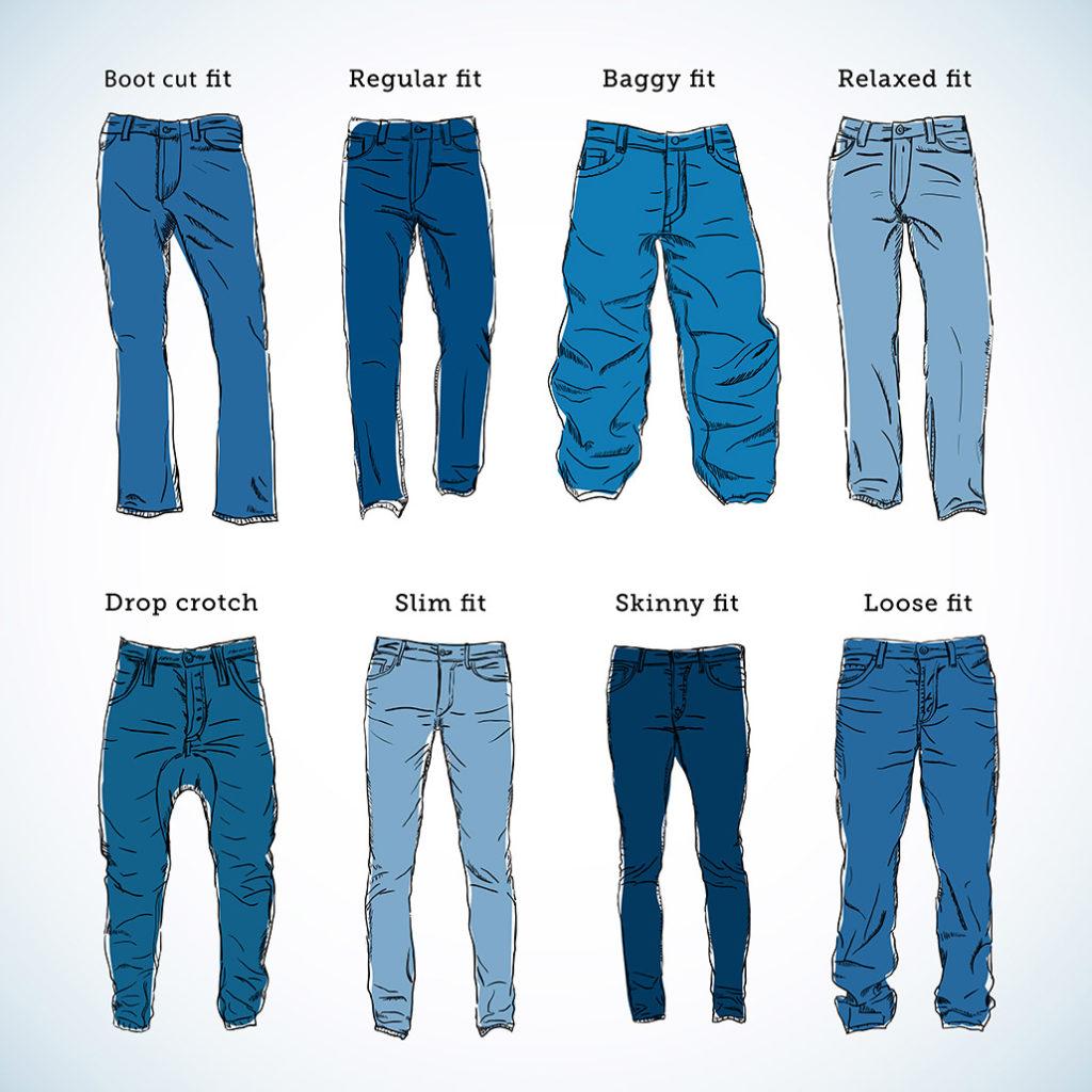 Jeans für Männer Varianten und Schnitte | © createvil - stock.adobe.com