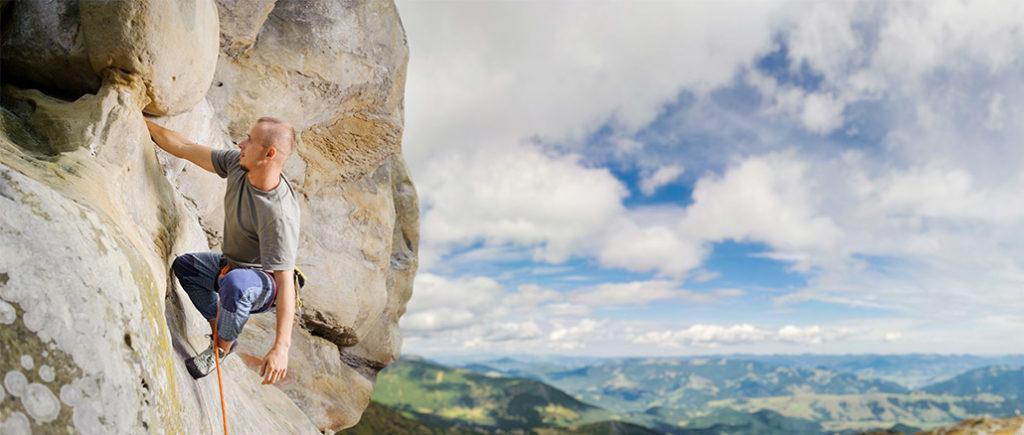 Mit Klettern aus der Pornosucht | © anatoliy_gleb - stock.adobe.com