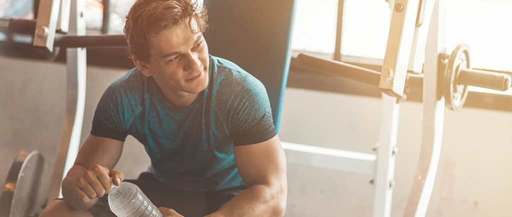 Durch Fitness mehr Selbstbewusstsein | © Adamov - stock.adobe.com