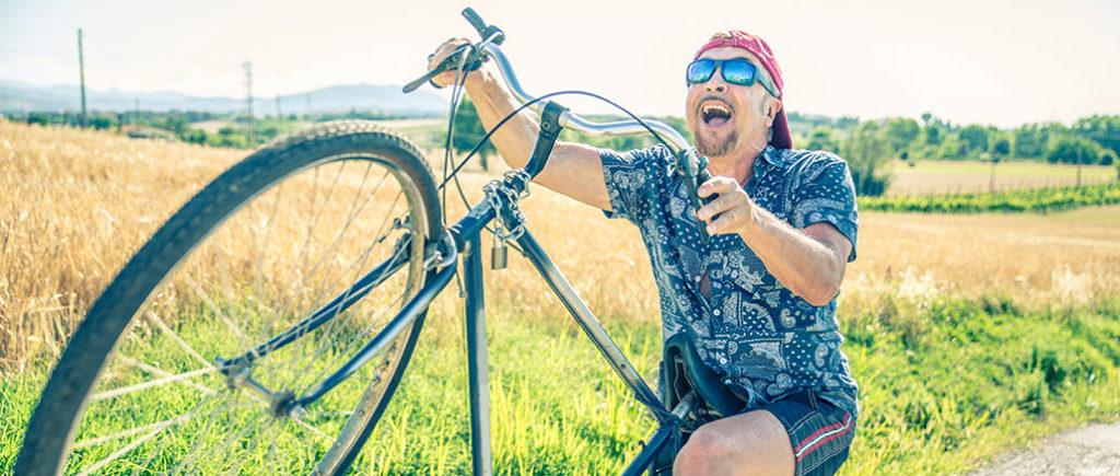Radsport ist ideal für Männer ab 50 | © oneinchpunch - stock.adobe.com